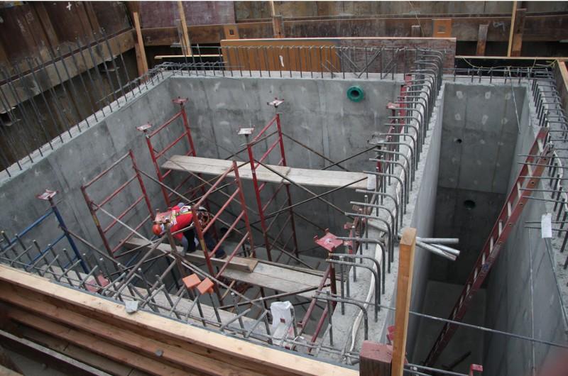 Concrete Pit for Huntington Beach Pump Station - Brian Construction Co., Inc.