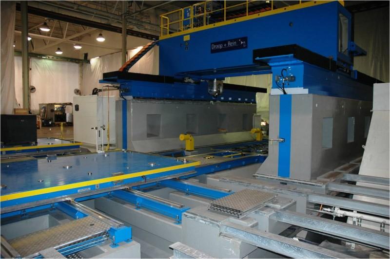 Precision Milling Machine Installation - Brian Construction Co., Inc.